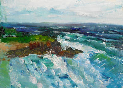 Painting - La Jolla Cove 042 by Jeremy McKay