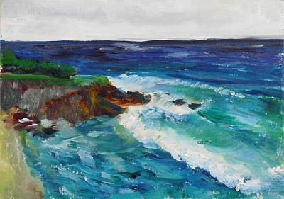 Painting - La Jolla Cove 043 by Jeremy McKay