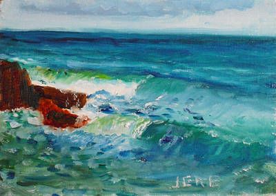Painting - La Jolla Cove 046 by Jeremy McKay