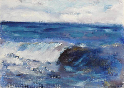 Painting - La Jolla Cove 049 by Jeremy McKay