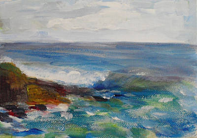 Painting - La Jolla Cove 050 by Jeremy McKay