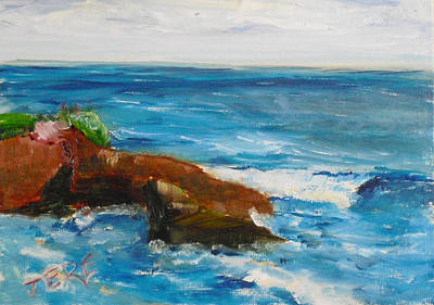 Painting - La Jolla Cove 051 by Jeremy McKay