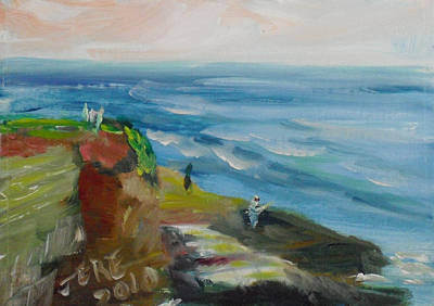 Painting - La Jolla Cove 054 by Jeremy McKay