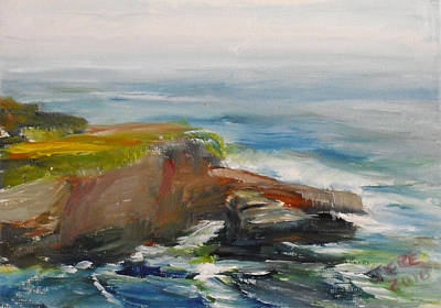 Painting - La Jolla Cove 056 by Jeremy McKay