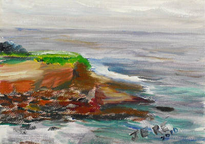 Painting - La Jolla Cove 065 by Jeremy McKay