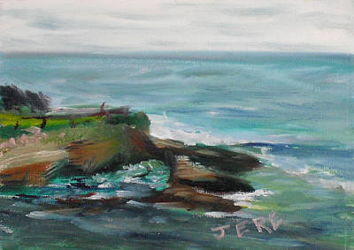 Painting - La Jolla Cove 067 by Jeremy McKay