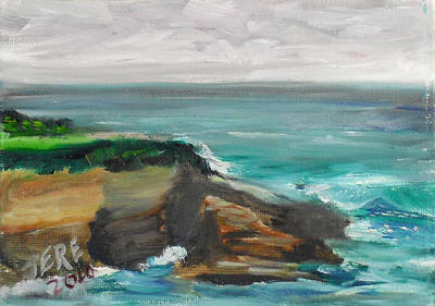 Painting - La Jolla Cove 068 by Jeremy McKay