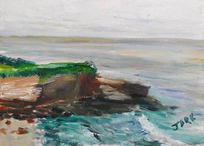 Painting - La Jolla Cove 069 by Jeremy McKay