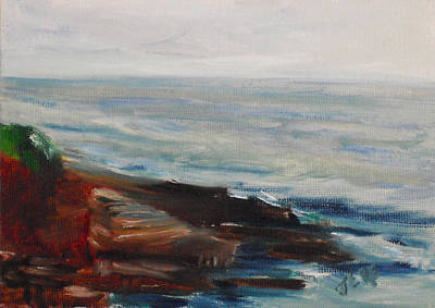 Painting - La Jolla Cove 070 by Jeremy McKay