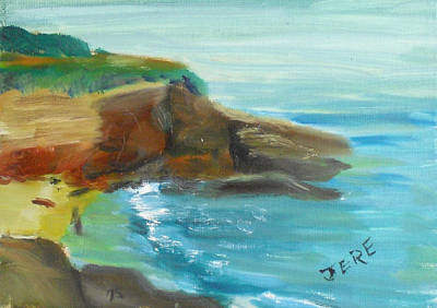 Painting - La Jolla Cove 071 by Jeremy McKay