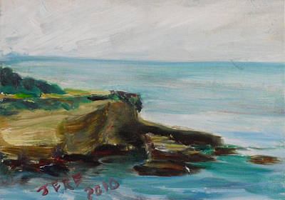 Painting - La Jolla Cove 072 by Jeremy McKay