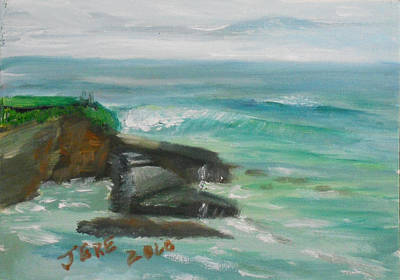 Painting - La Jolla Cove 074 by Jeremy McKay