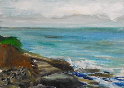 Painting - La Jolla Cove 076 by Jeremy McKay