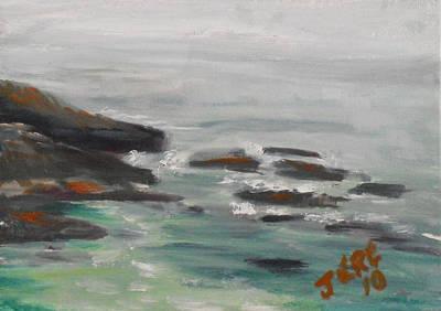 Painting - La Jolla Cove 081 by Jeremy McKay