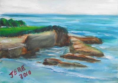 Painting - La Jolla Cove 094 by Jeremy McKay
