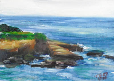 Painting - La Jolla Cove 096 by Jeremy McKay