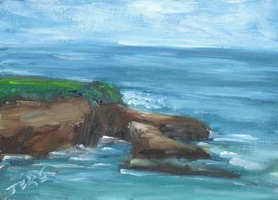 Painting - La Jolla Cove 098 by Jeremy McKay