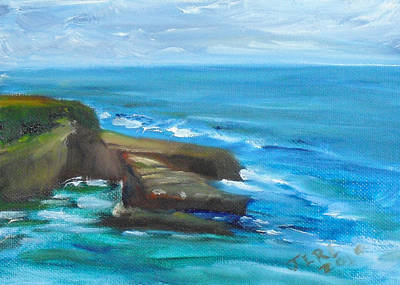 Painting - La Jolla Cove 099 by Jeremy McKay