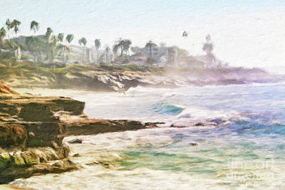 Photograph - La Jolla Cove Impression by Gabriele Pomykaj