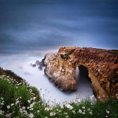 California Seascape Photograph - La Jolla Cove by Larry Marshall