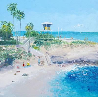 Painting - La Jolla Cove San Diego by Jan Matson