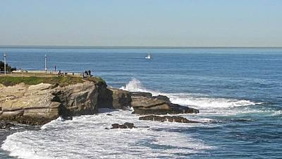 Photograph - La Jolla Coves by Carol Bradley