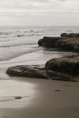 Photograph - La Jolla North Beach - 2 - A Close-up  by Hany J