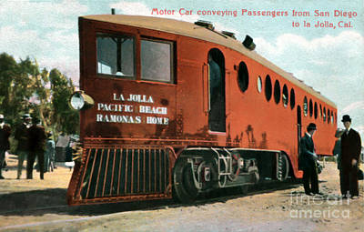 Steampunk Royalty-Free and Rights-Managed Images - La Jolla Pacific Beach Railway by Sad Hill - Bizarre Los Angeles Archive