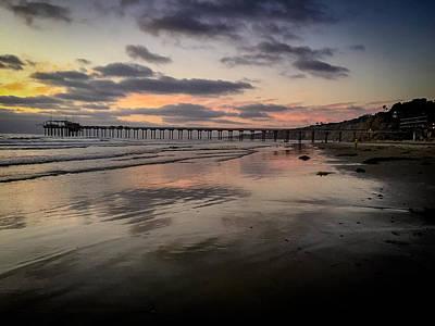 Photograph - La Jolla Pier by Michael Damiani