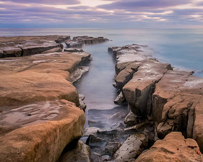 Rocky Coast Photograph - La Jolla Reef by Joseph Smith