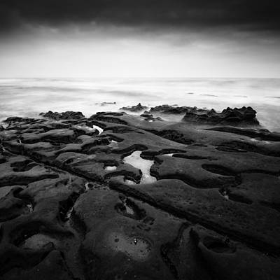 Photograph - La Jolla - Scarred By Elements by Alexander Kunz