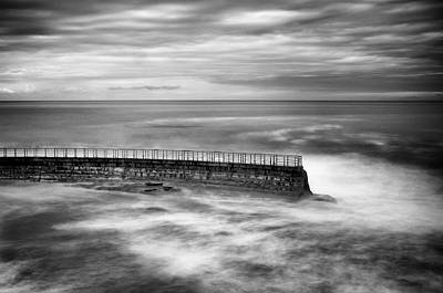 La Jolla Photograph - La Jolla Seawall by Tanya Harrison