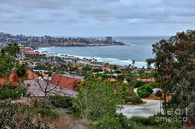 Photograph - La Jolla Shoreline by Eddie Yerkish