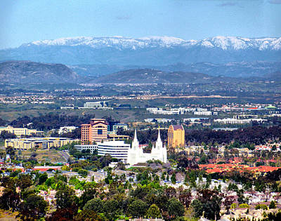 San Diego Photograph - La Jolla Snow by Russ Harris