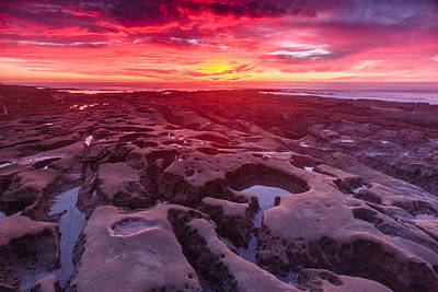 Photograph - La Jolla Sunset 2 by Ben Graham