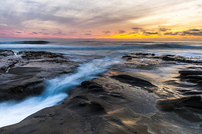 Photograph - La Jolla Sunset by Chuck Jason