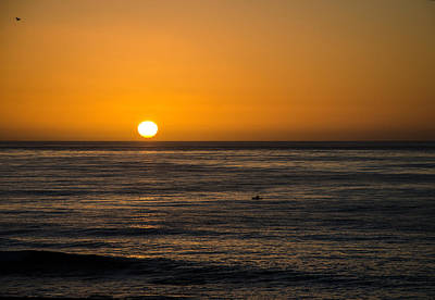 Photograph - La Jolla Sunset by Susan McMenamin