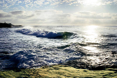 Photograph - La Jolla Towards Casa Cove by Anthony Jones