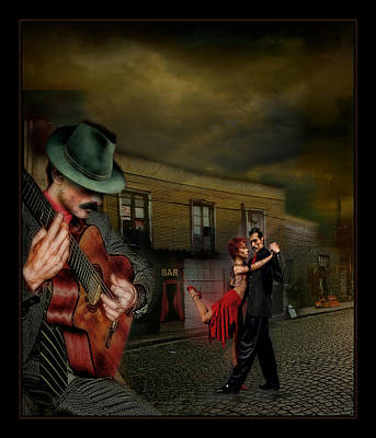 Raul Photograph - La Leccion De Tango II by Raul Villalba