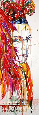Annie Lennox Mixed Media - La Lennox by Joseph Lawrence Vasile