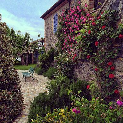 Photograph - La Locanda, Italy by Kathleen McGinley