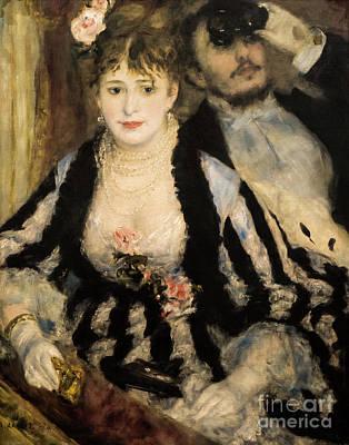 Painting - La Loge by Auguste Renoir