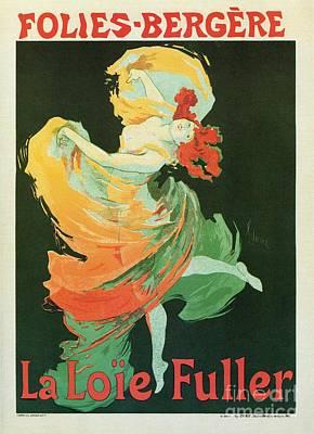 Belle Epoque Digital Art - La Loie Fuller Ballet Dance by Heidi De Leeuw