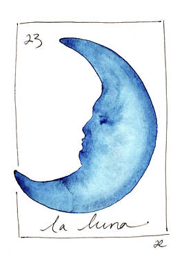 Painting - La Luna by Anna Elkins