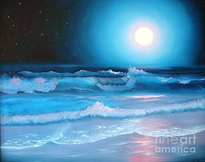 La Luna  My Seascape Collection Art Print