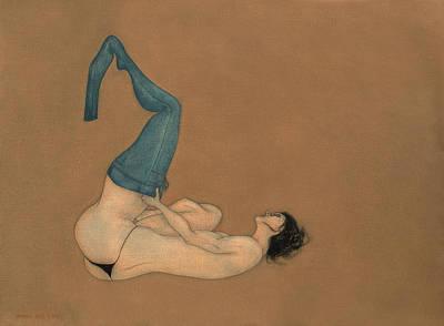 Painting - La Lutte by Antonio Ortiz