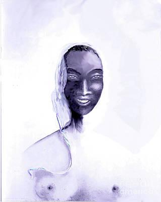La Madone De Harlem Art Print