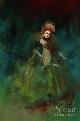 Digital Art - La Madonna Della Verde by Jack Torcello