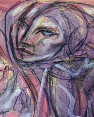 Painting - La Madre de Las Dreamers by Jimmy Longoria