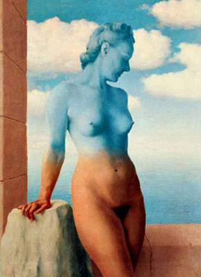 Rene Magritte Painting - La Magie Noire by Rene Magritte
